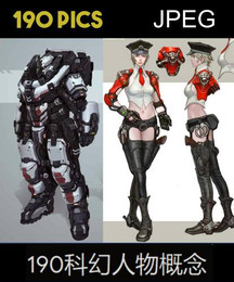 190 Sci Fi Characters Concepts