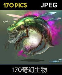 170 Various Fantasy Creatures