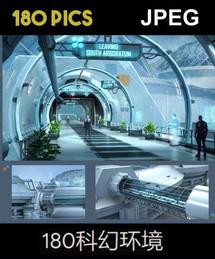 180 SCI-FI ENVIRONMENTS