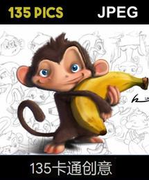 135 Creative Cartoon