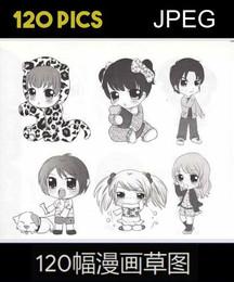 120 Manga Sketchs