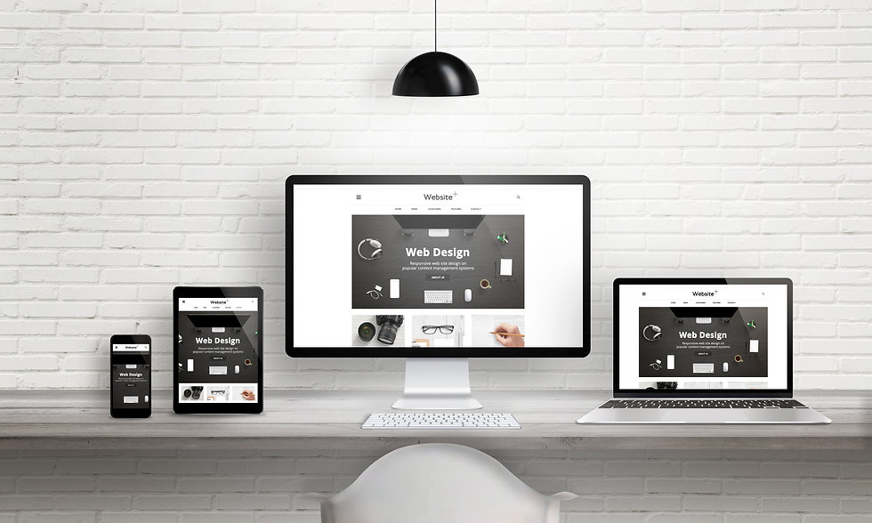 Creative web design agency presentation