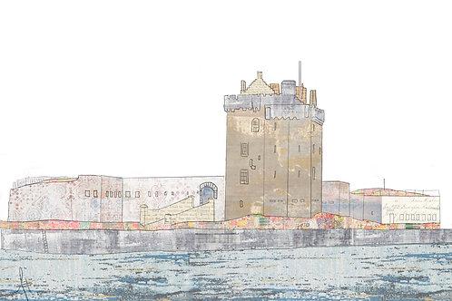 Broughty Ferry Castle (Blue)