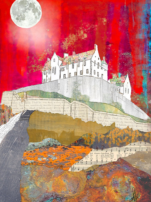 Edinburgh Castle (Red)