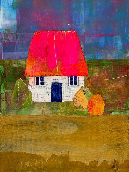 Scottish Bothy (Pink Roof)