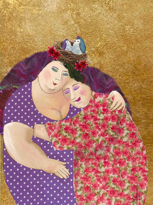 Purple Fuzzy Hugs