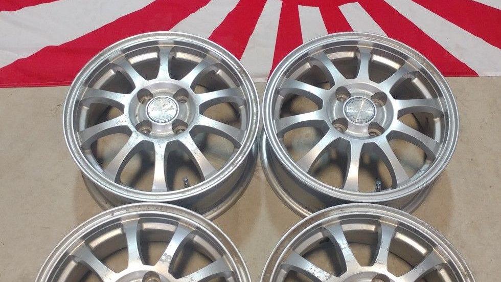 """14"""" Stranger wheels. 14x5.5 4x100 et38"""