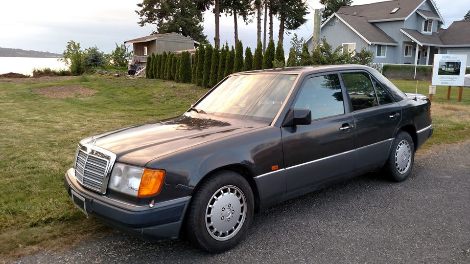 1991 Mercedes W124 RHD Euro Import
