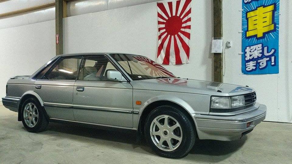 1986 Nissan Bluebird SSSX