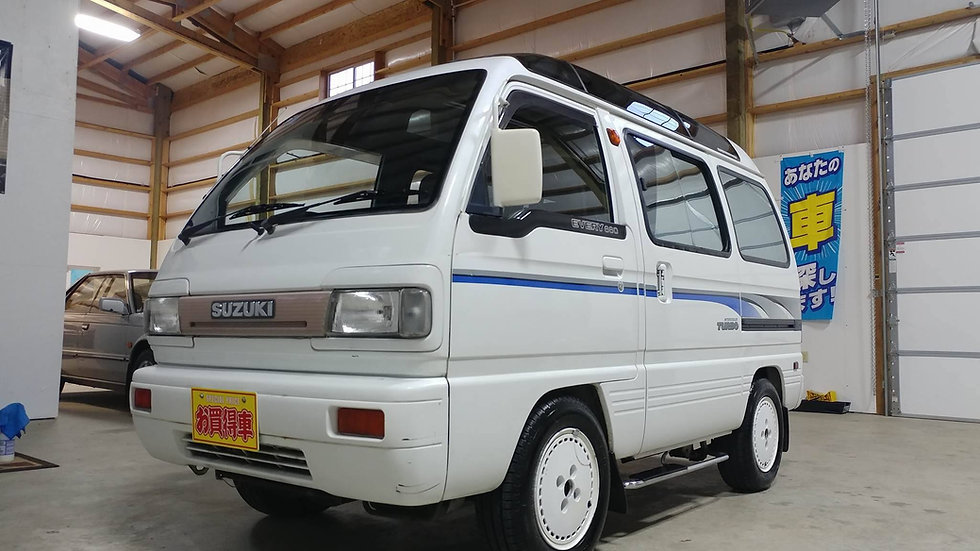 1990 Suzuki Every Turbo Kei Van