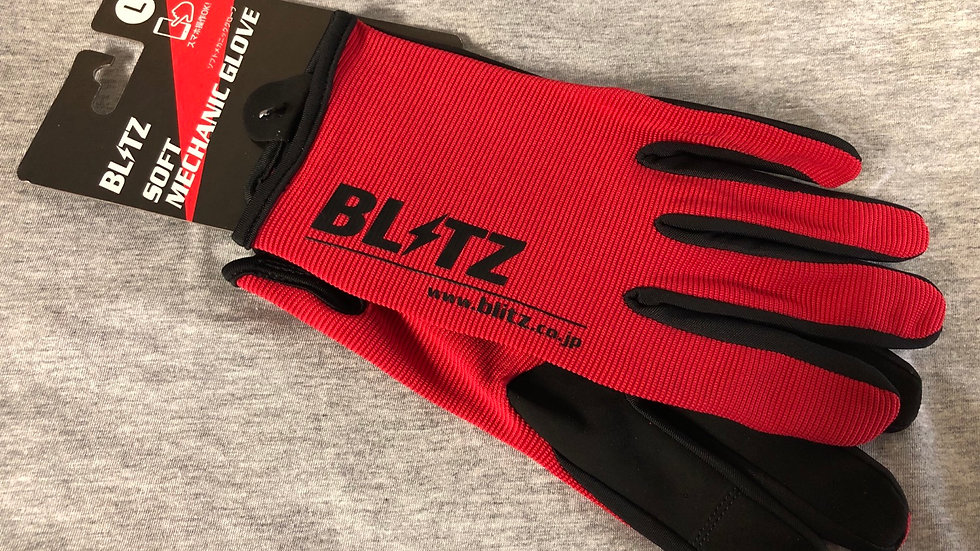 Blitz Size L Mechanics Gloves