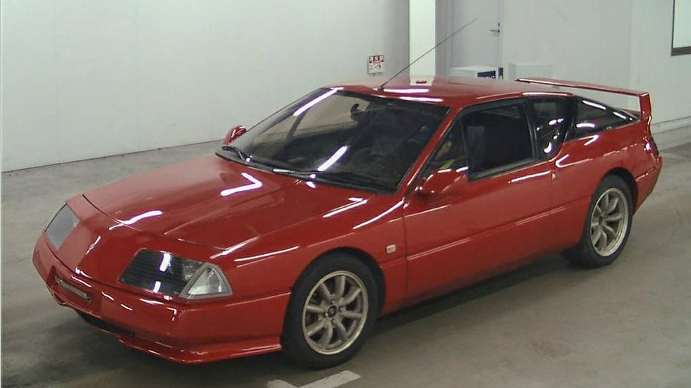 1989 Renault Alpine V6 Turbo