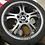 "Thumbnail: 17"" WEDS Kranze wheels. 17x7 5x114.3 ET53. RARE JDM WHEELS.  No tires."