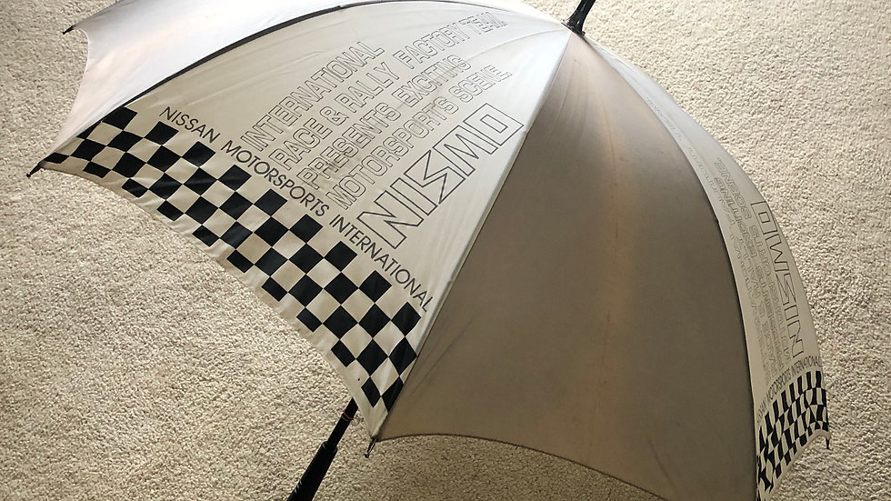 EXTREMELY Rare Nismo Old Logo Pit Umbrella