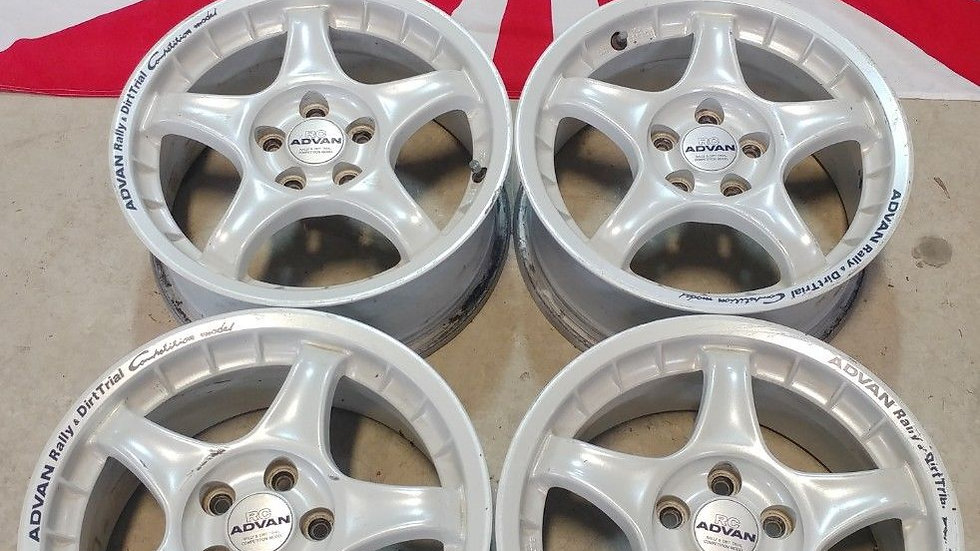 "15"" ADVAN RC WHEELS. 15x6.5 5x100 ET35"
