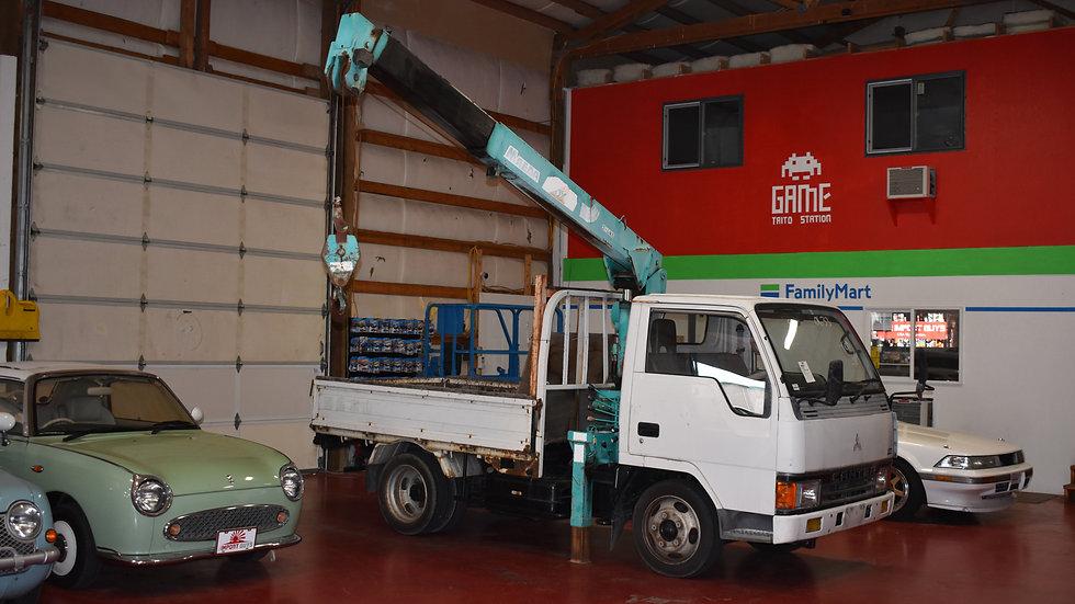 1994 Mitsubishi Canter Crane Truck
