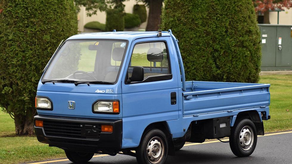 1990 Honda Acty SDX 4WD