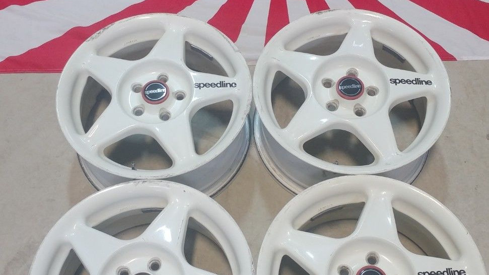 """15"""" SPEEDLINE wheels. 15x6.5 5x100 et45."""
