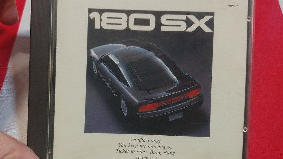 Nissan 180sx OFFICIAL SOUNDTRACK