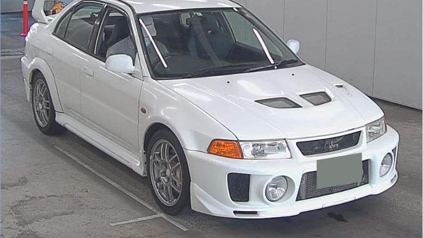 1998 Mitsubishi Evo V GSR