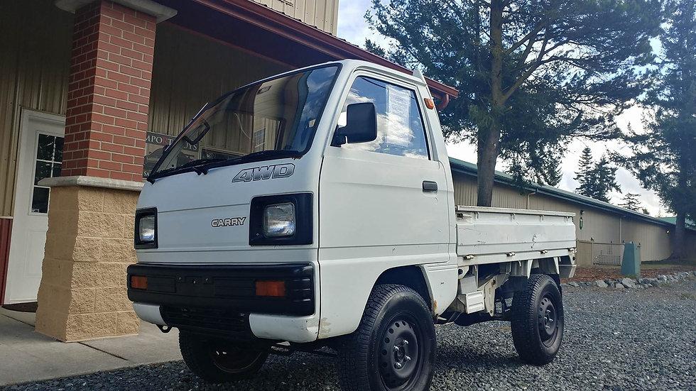 1989 Suzuki Carry 4 Inch Lift