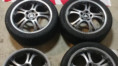 "17"" WEDS Kranze wheels. 17x7 5x114.3 ET53. RARE JDM WHEELS.  No tires."