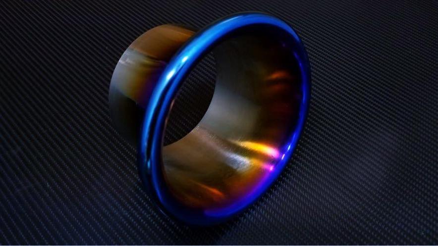 """89mm (3.5"""") Titanium Velocity Stack"""