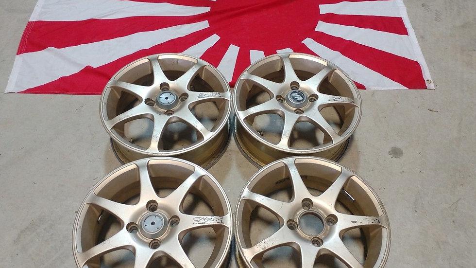 "14"" S-07 wheels. 14x5 4x100"
