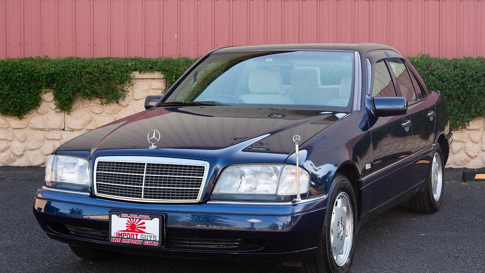 1996 Mercedes C220 NO RESERVE