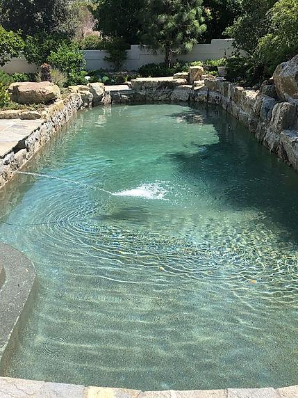 Pool After Chlorine Wash