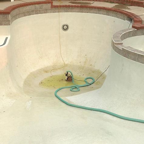 Pool Before Acid Wash