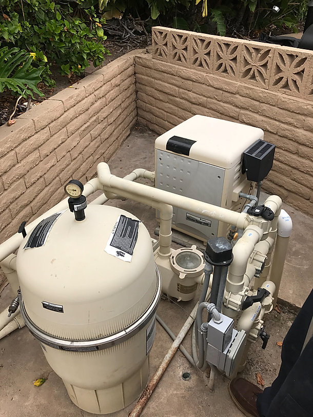 Pool Repairs and equipment installation in Orange County