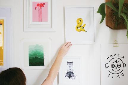 How to Create a Unique Gallery Wall
