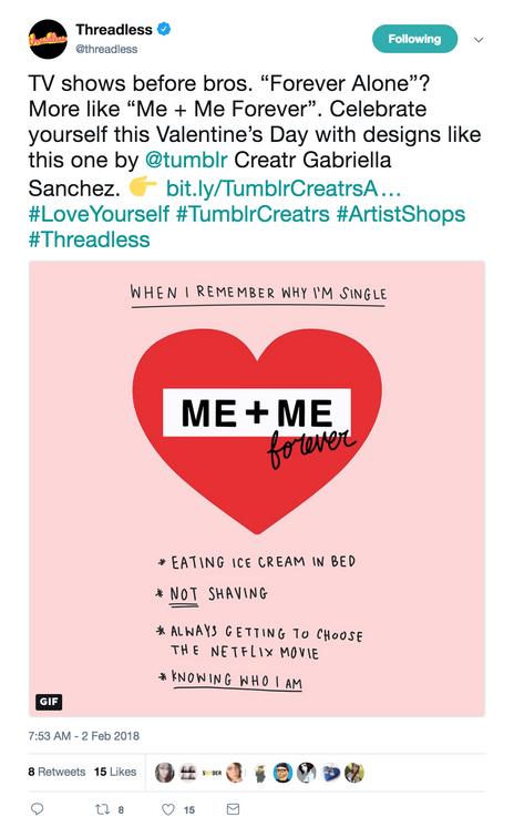 Tweet: Fun follow-up tweet as part of the campaign