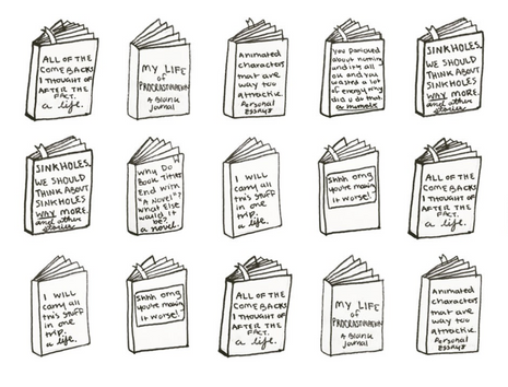 """""""Comebacks I Thought of After the Fact: A Memoir"""" And Other Doodled Biography Titles!"""