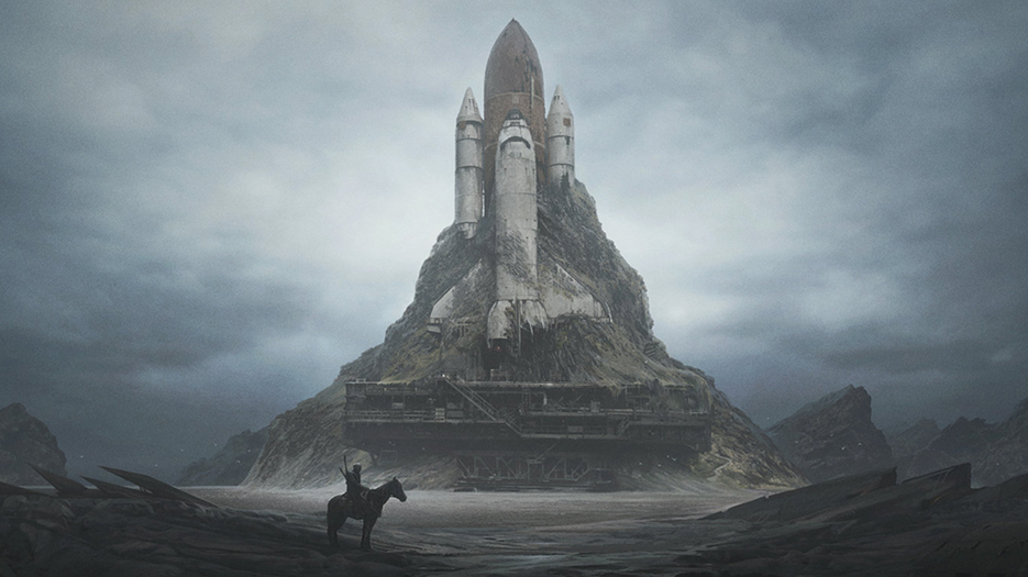 Get Lost in Yuri Shwedoff's Dystopian Visions