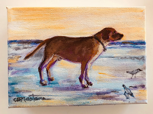 """Beach Day Is The Best"" painting by Carole Nastars"