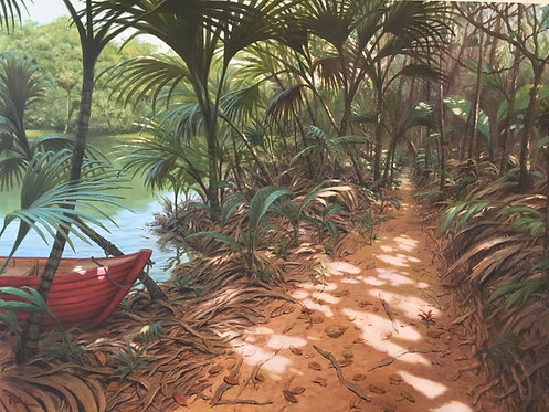 """""""THE EXPEDITION"""" Original Painting by David Ruhe"""