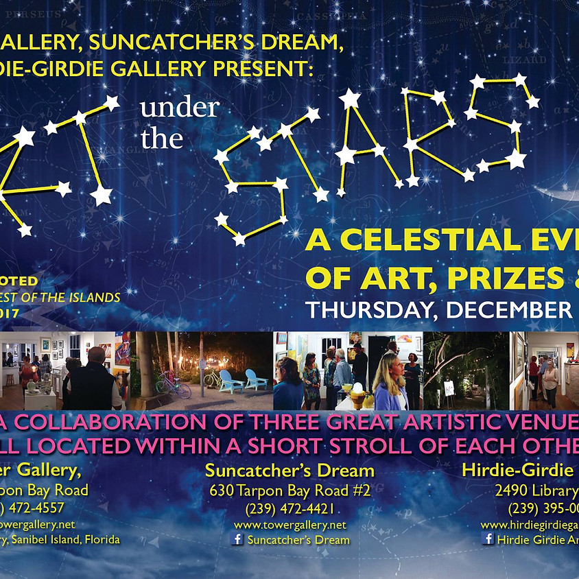 Tower Gallery Presents: Art Under the Stars