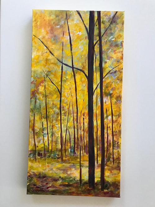 """Splendor"" Original acrylic painting on wrapped canvas by Carole Nastars"