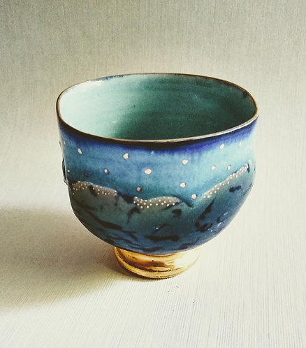 """""""The meeting place"""" original porcelain by Ludmila Evans"""