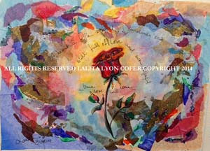 """Ever Hopeful, Condition of the Heart Series"" Original Canvas by Lalita Cofer"
