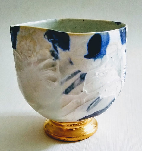 Original one of a kind vessel by Ludmila Evans $58