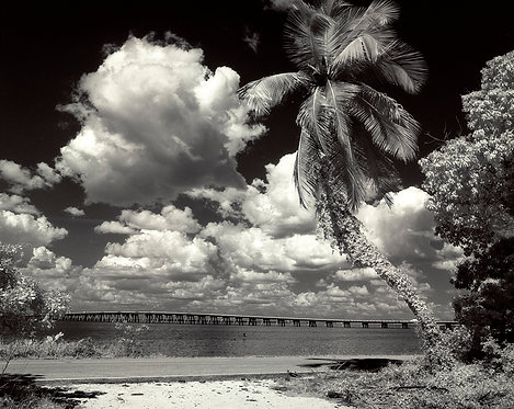 """""""Old Causeway"""" print matted to 11x14 by famed photographer Charlie McCullough"""