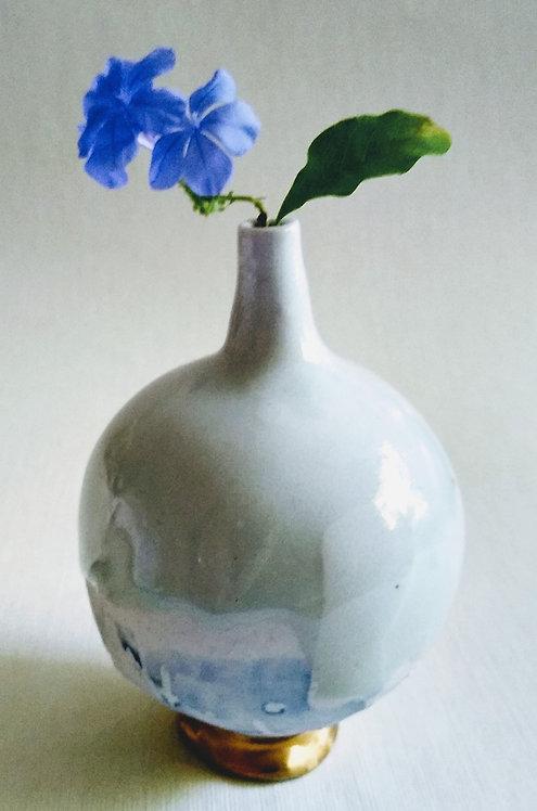 """Glacial Heat"" Original porcelain by Ludmila Evans"