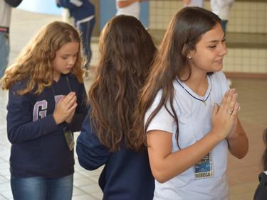 Encontro da Pastoral com os Educandos dos 6º, 7º e 8º anos