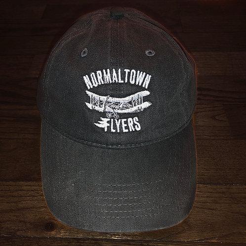 Charcoal Flyers Logo Hat