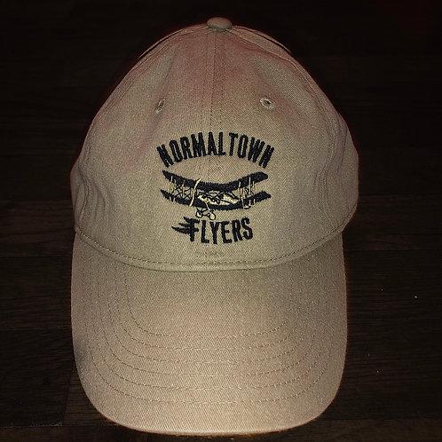 Khaki Flyers Logo Hat