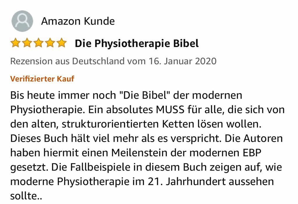 Physiotherapie Grundlagen 2