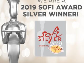 2019-Sofi Award Silver Award Winner!